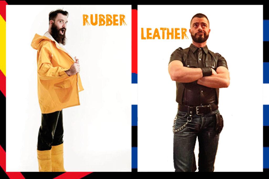 Doppia intervista a Mr. Leather e Mr. Rubber Italia