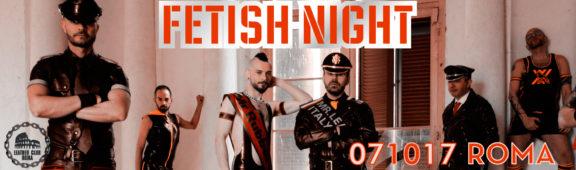 Fetish Night Ottobre 2017