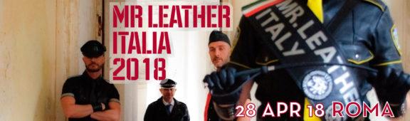 Mister Leather Italia 2018