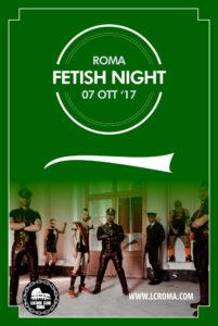 Fetish Night Ottobre 2017 Flyer