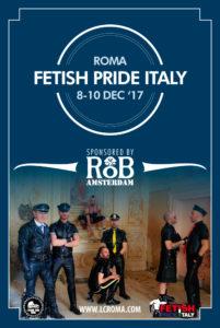 Fetish Pride Italy 2017 Flyer