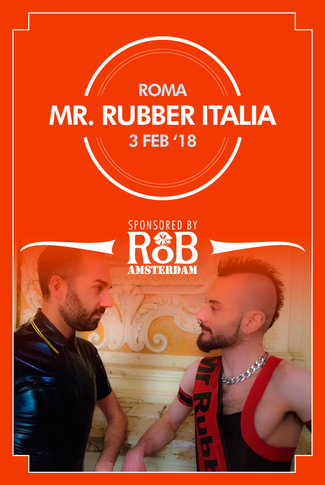 Mister Rubber Italy 2018 Flyer