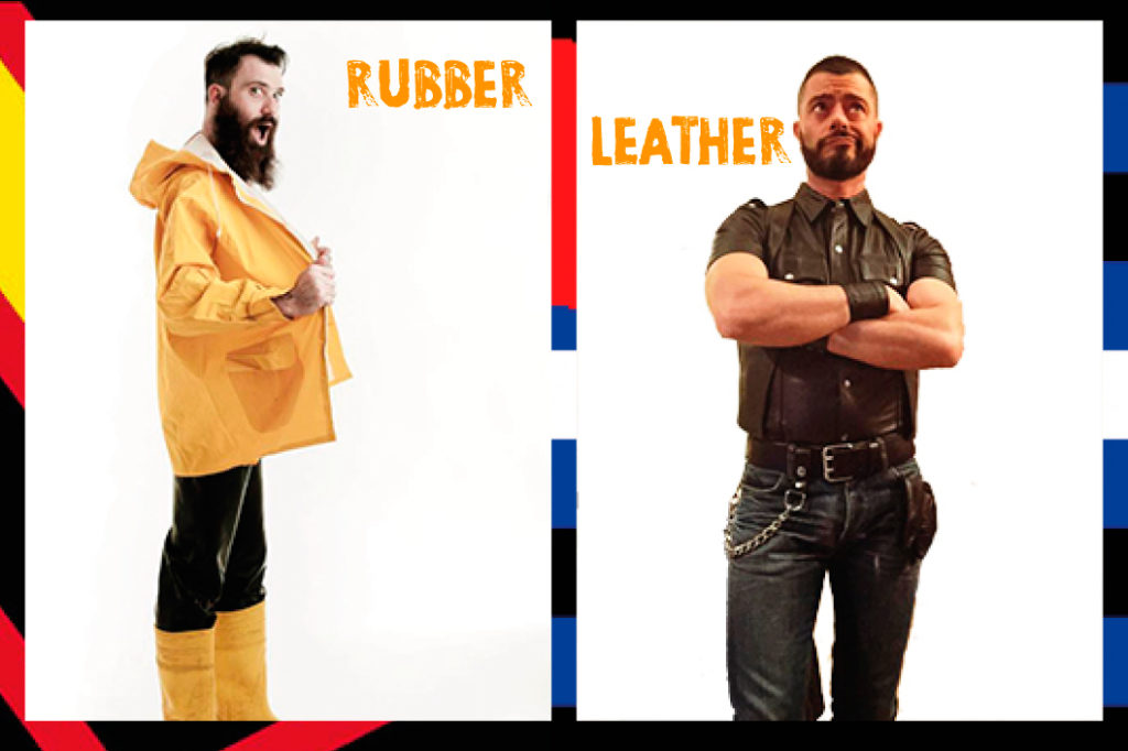 Doppia intervista a Mr. Leather e Mr. Rubber Italia