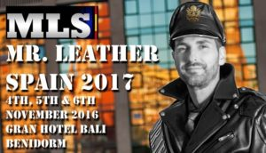 Mister Leather Spain 2016