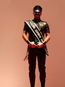 Joe, Mr. Leather Europe 2016