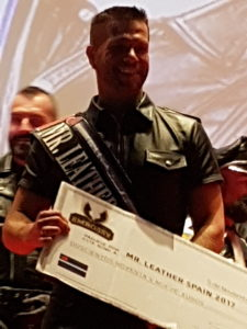 Janos, Mister Leather Spain 2017