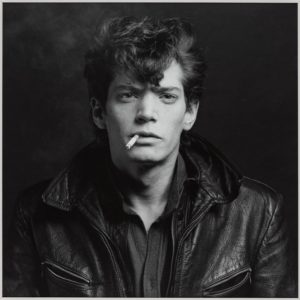 Self Portrait 1980 by Robert Mapplethorpe