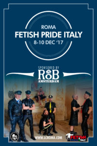 Fetish Pride Italy 2017 Flyer