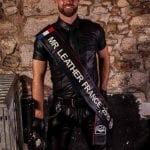 Sylvain - Mr Leather France 2015 at Fetish Pride Italy