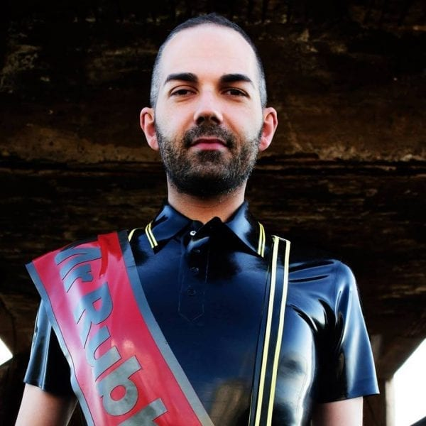 Chris, Mr. Rubber Italy 2016