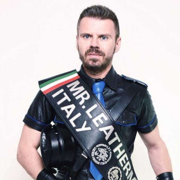 Neri, Mr. Leather Italy 2016