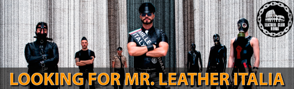 Looking for Mister Leather Italia