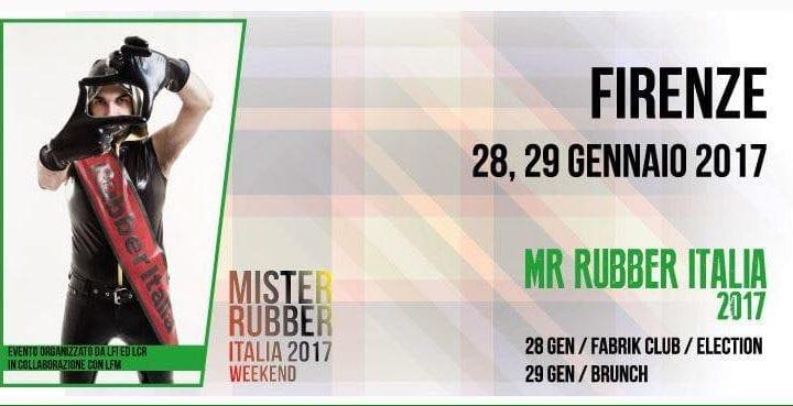 Mister Rubber Italia 2017