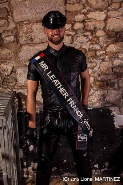 Sylvain - Mr. Leather France 2015 at Fetish Pride Italy