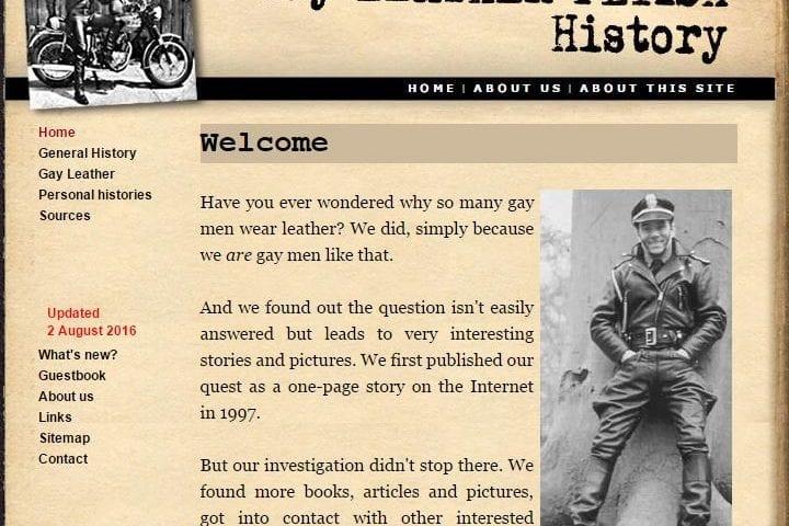 Cuirmale website - Screenshot