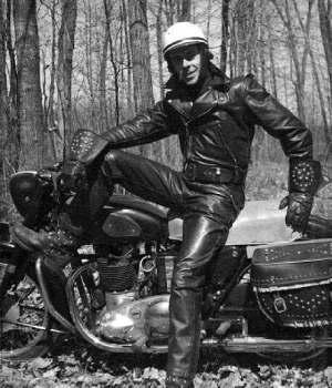 Cuirmale website - 40's motorcycle jacket