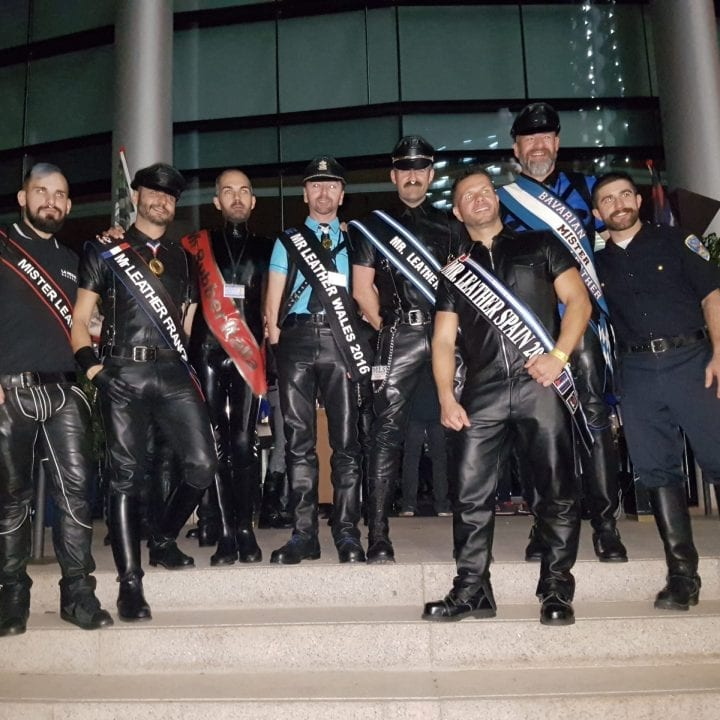Mister Leather Spagna 2017