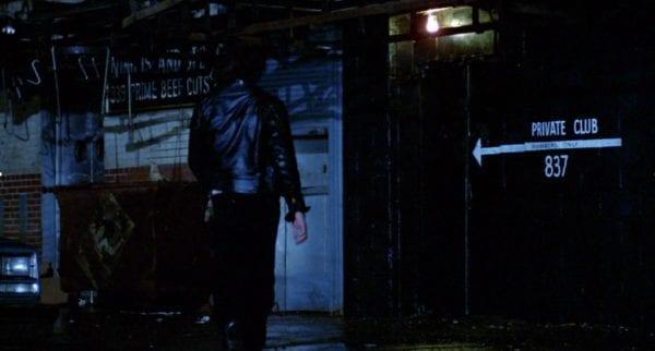 Ingresso del Mineshaft nel film Crusing