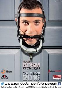 Locandina Roma BDSM Conference 2016