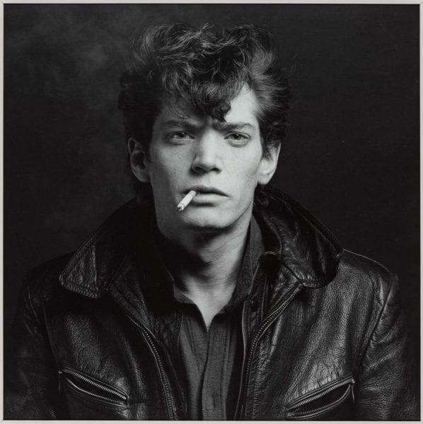 Self Portrait 1980 by Robert Mapplethorpe