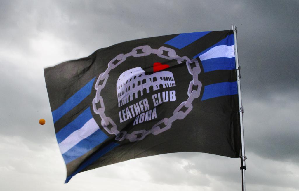 Bandiera Leather Club Roma