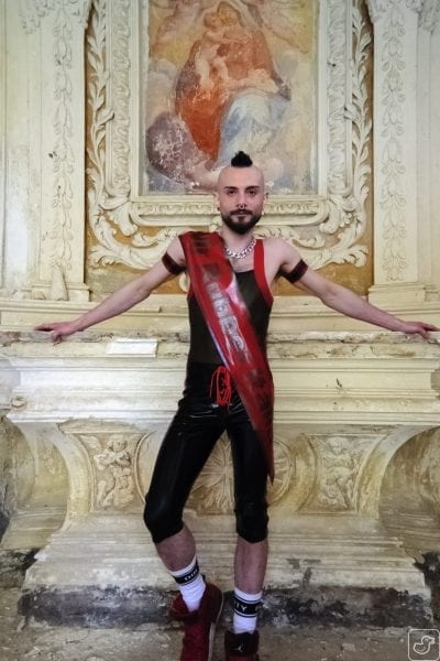 Gennaro, Mister Rubber Italia 2017