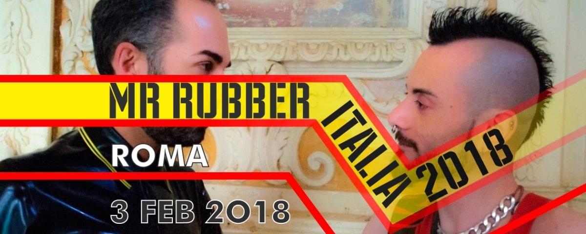 Mister Rubber Italia 2018