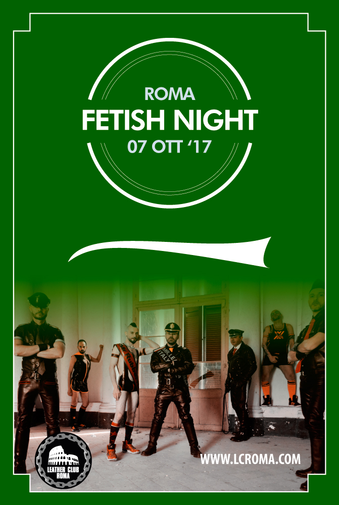 Fetish Night October 2017 Flyer