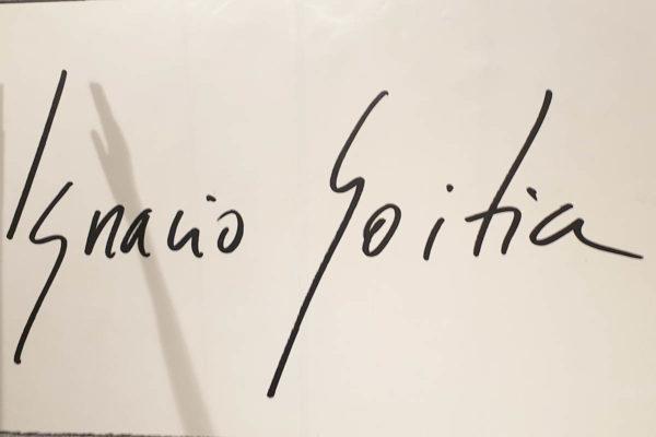 Firma dell'artista (sala 3)