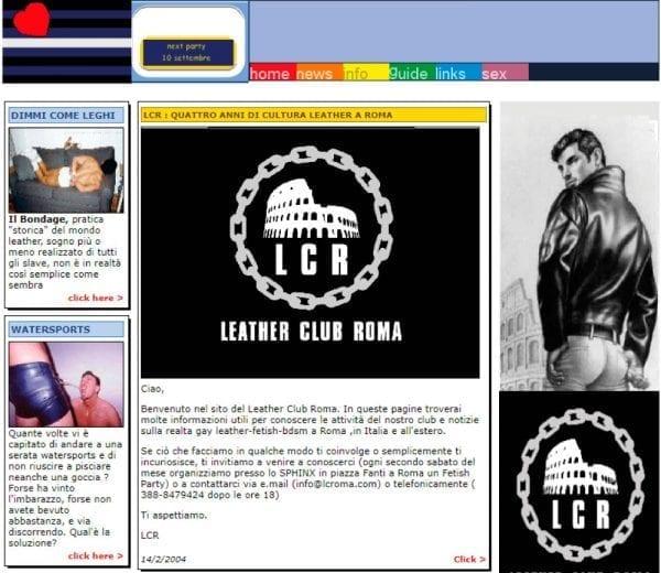 lcroma website 2004